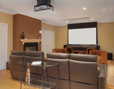 Why Hiring a Professional Electrician for Home Theater Installation is the Best Option?