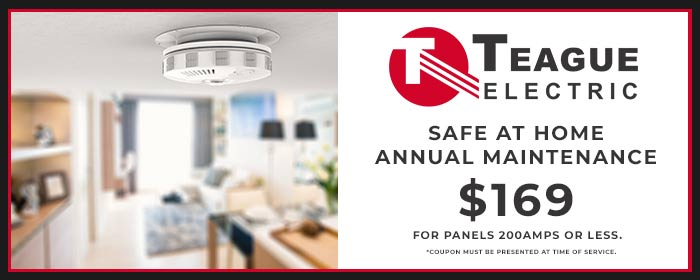 teague coupon safe at home annual maintenance